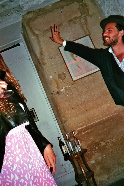 dancing/drinking paris