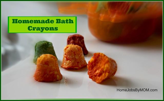 Homemade Ivory Bath Crayons