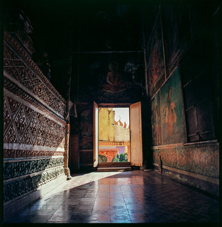 Inside Xiem Can Temple