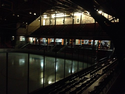 Baker Rink, Princeton University, post-game, September 13, 2014.