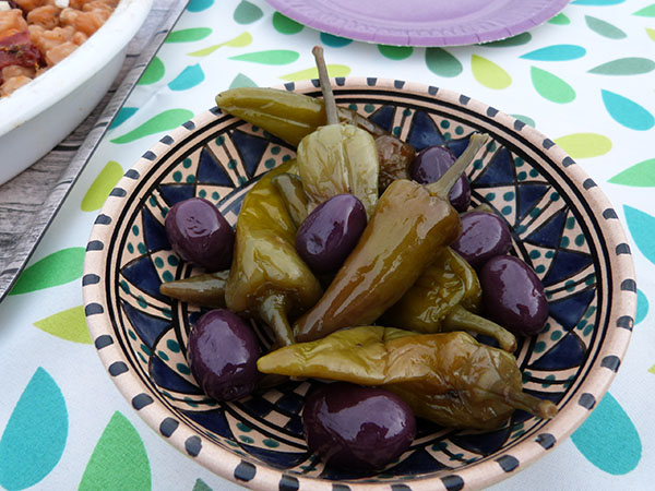olives et piments