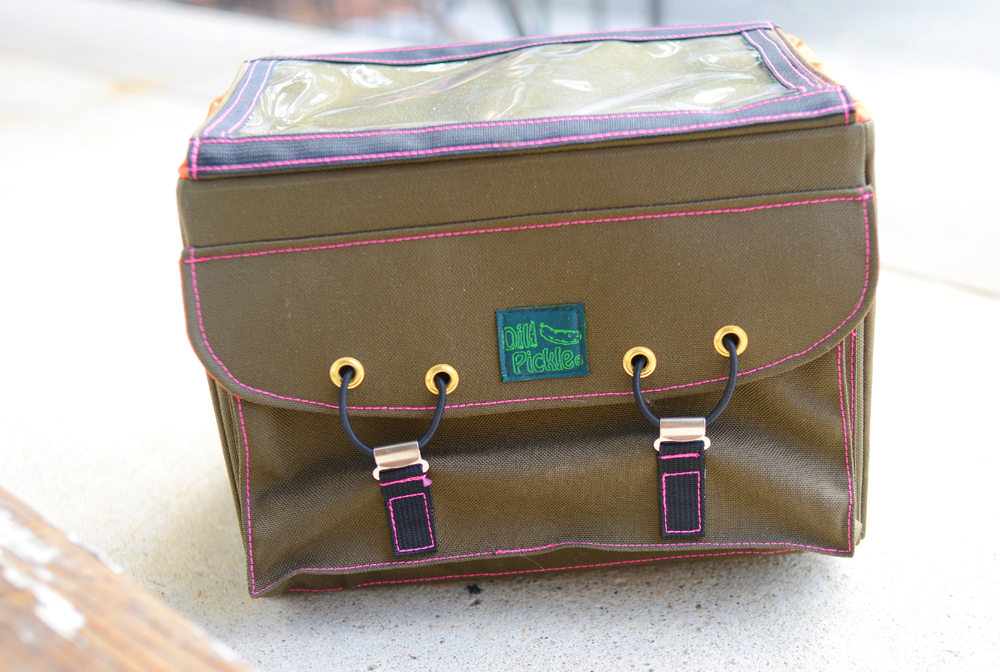 Dill Pickle Rack-Top Rando Bag Prototype