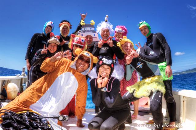 これぞクマさんのダイビングショップ!!! 2014/09/18