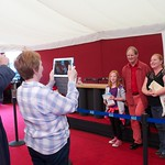 A photograph opportunity with Michael Morpurgo |