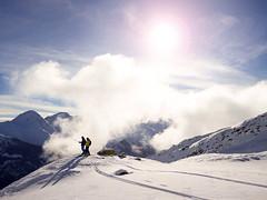 200km sjezdovek ve švýcarském Disentis Sedrun