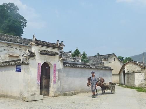 Anhui-Hongcun-Village-Étang-Lune (10)