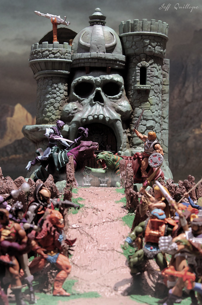ACBA of the Day - The War Has Begun by Toy Photography Addict