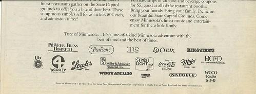 07/02 - 05/87 Taste of Minnesota 1987 (Ad-Bottom)
