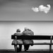 Old Couple On Bench Looking Out To Sea by LeePellingPhotography.co.uk