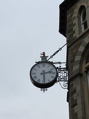 Dragon ? on clock Barclays Bank listed building IMG_9050