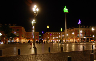 Image of Place Masséna near Nice. nice southoffrance cotedazure frenchriviera nikond802016dsc1167