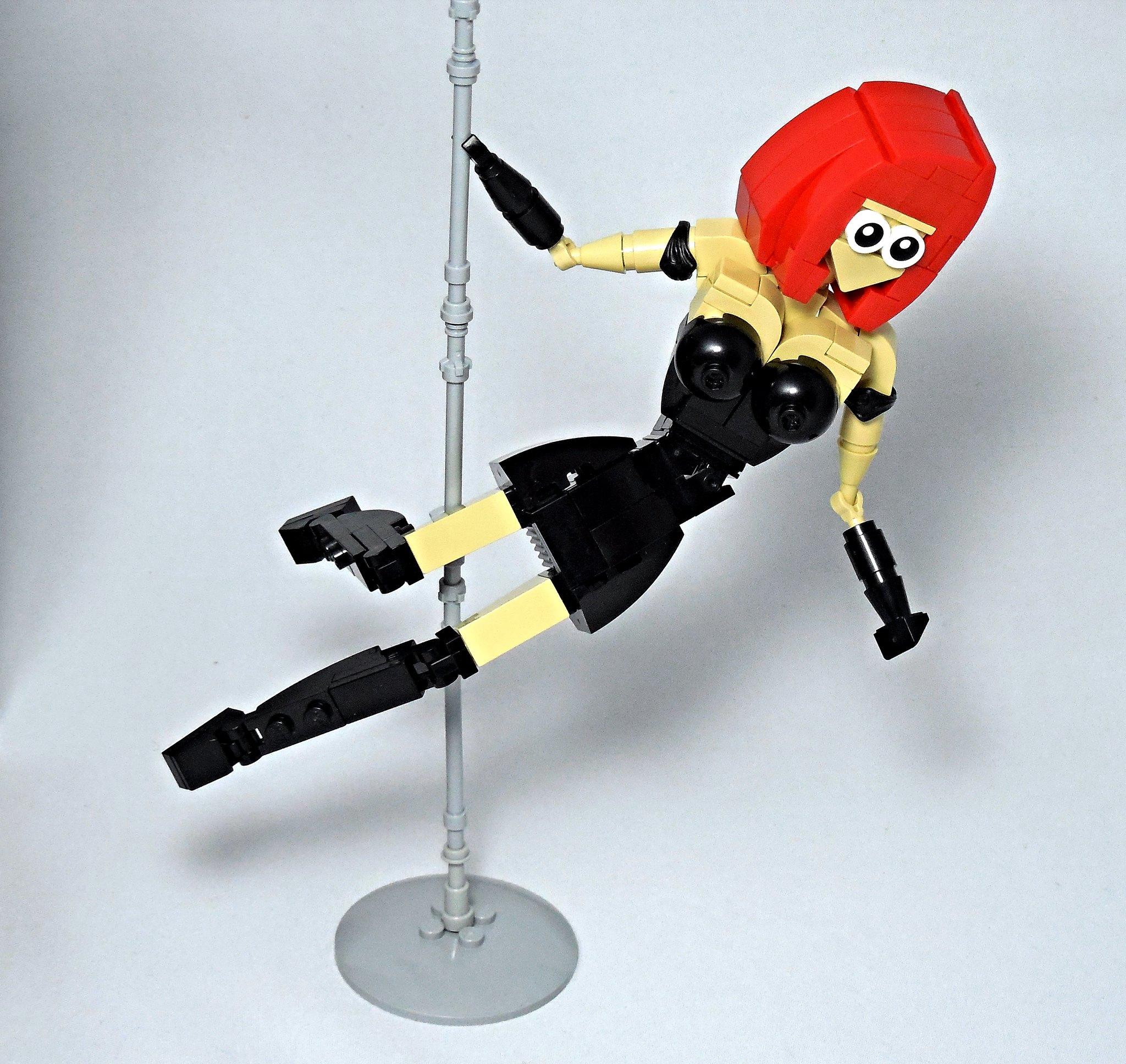 LEGO® MOC by Vitreolum: Pole Dancer
