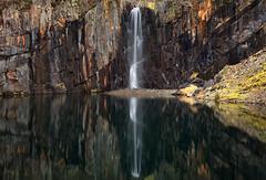 Banishead Quarry Waterfall, nr Coniston, Lake District