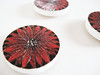 Poinsettia Magnets