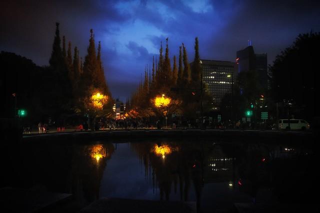 twilight, Fujifilm X70