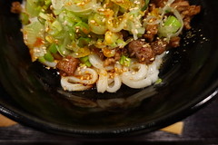 Udon Tantanmen without broth @ Kisin @ Paris