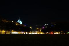 Johannisplatz am Abend