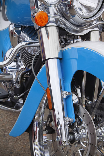 Indian Motorcycle in HDR