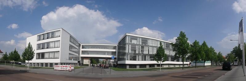 P4230093 Pano Dessau Bauhaus Unesco Alemania