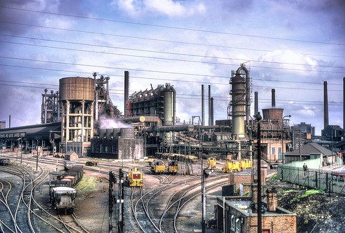Corby Steelworks Oct 1967 by John Wiltshire | by peter.brabham