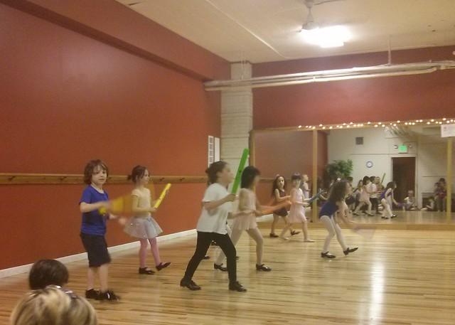 Moira's ballet/tap class