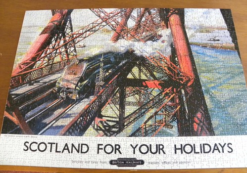 Forth Rail Bridge jigsaw