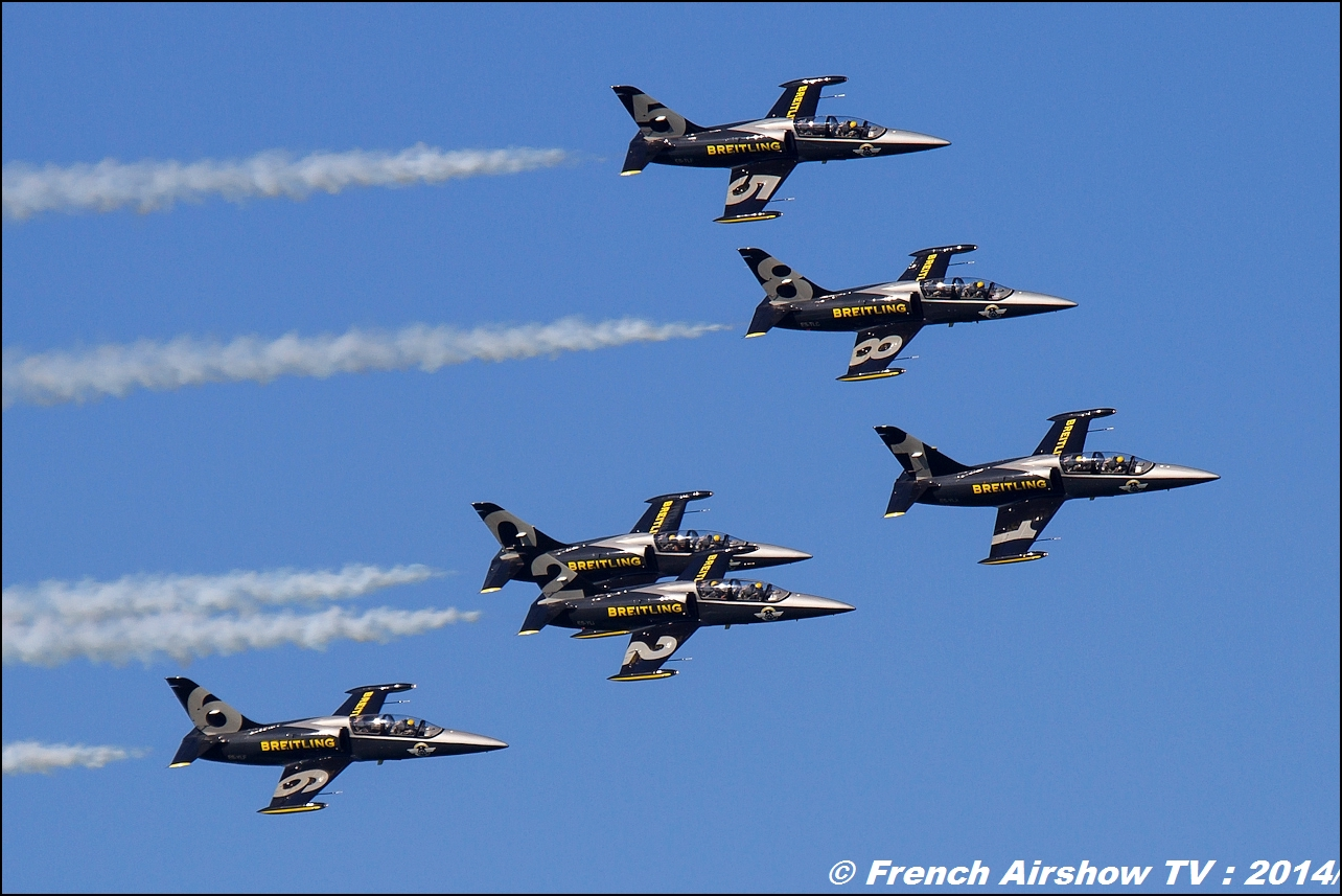Patrouille Breitling, Meeting Aerien 2014