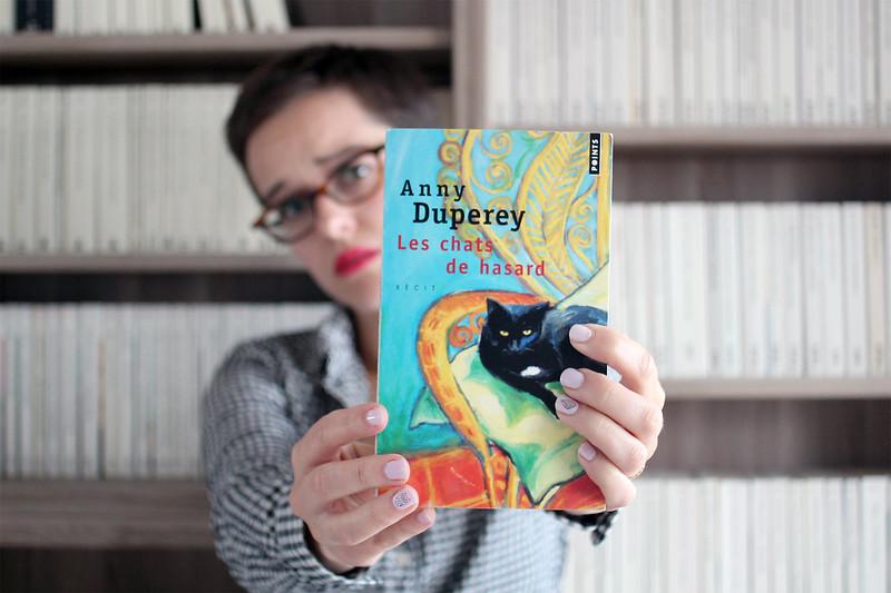 Les chats de hasard Anny Duperey