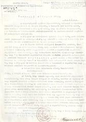 VII/2.b. A szarvasi deportáltak kérelme takaró kiutalása iránt.