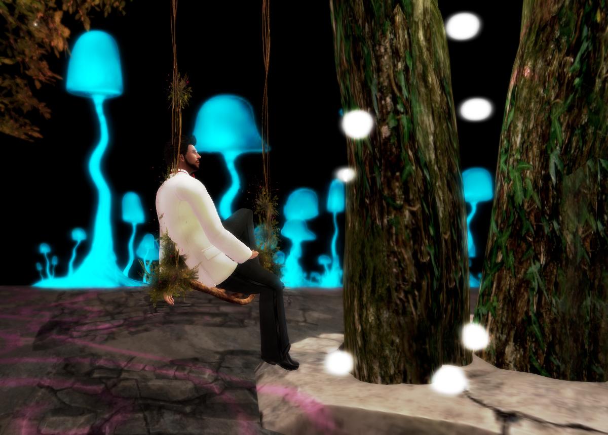 Ricco swings before the mushrooms