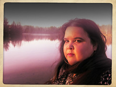 Self-Portrait by Lake Joanis, Valentina 2014