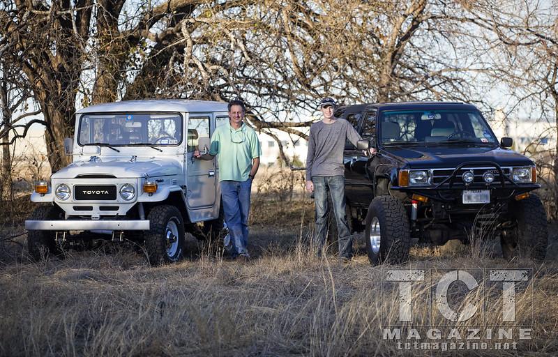 Father Son first gen Toyota 4Runner rebuilt | Toyota Magazine