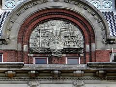 Elevatorhuis Parklaan 8 relief