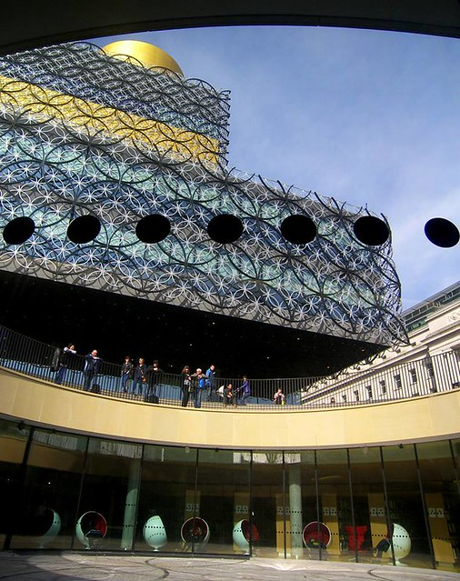 Birmingham city library, by Parmjit Flora