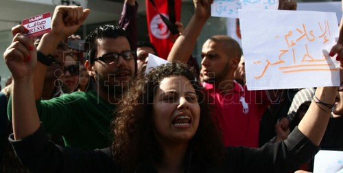 Police Assault Highlights Obstacles Facing Tunisia's Journalists