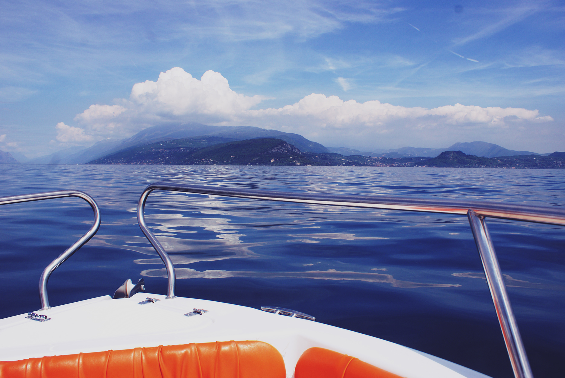 Bootsfahrt Gardasee