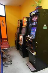 recreation(0.0), machine(1.0), arcade game(1.0), video game arcade cabinet(1.0), games(1.0),