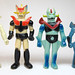 Bootleg Mazinger Z comparison by scobot