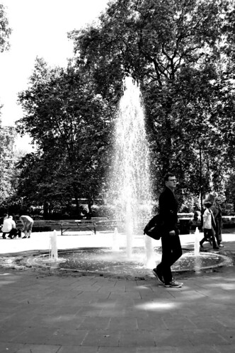 Russel square fountain