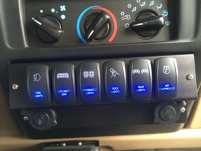 Cherokee Switch Panel Ideas Needed Page 2 Jeep