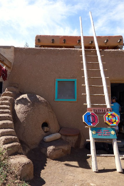 Artisan shop at Taos Pueblo