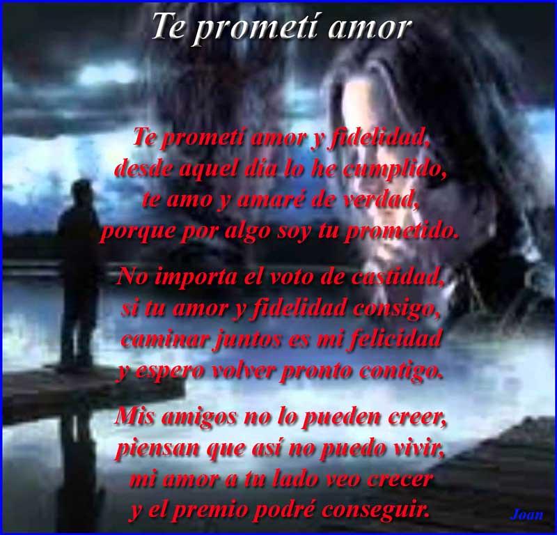 Te prometi amor