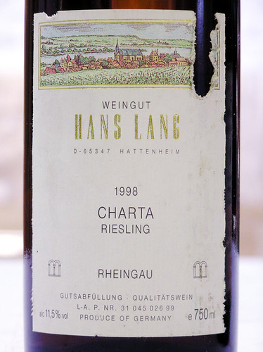 Weingut Hans Lan 1998 Charta Riesling Rheingau