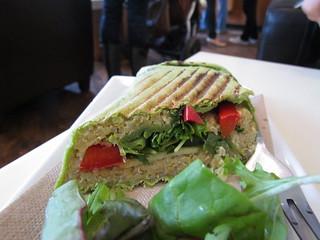 Quinoa Wrap at Agro Cafe