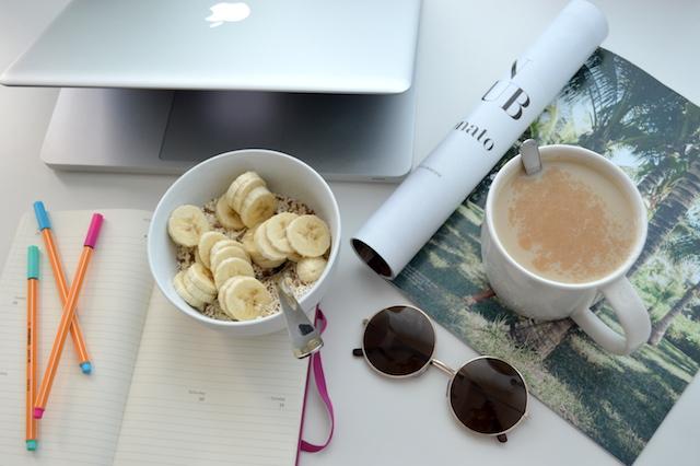 Frühstück To-Do Liste schreiben