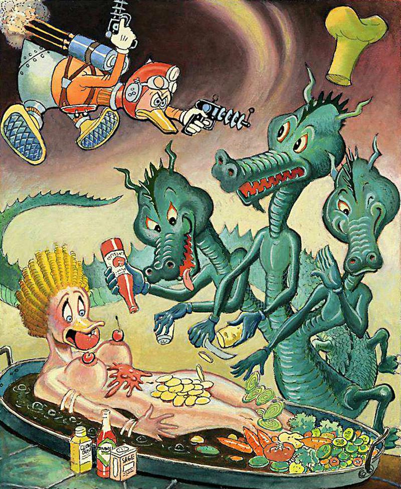 Carl Barks - Duck Rogers, 1979
