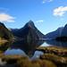 Mitre Peak, Milford Sound by ~*Hannah*~