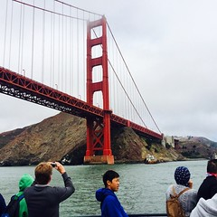 It's big #goldengatebridge #sanfrancisco #tourist