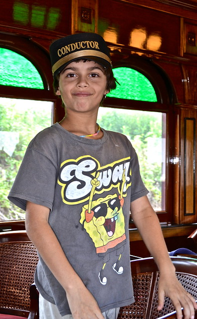 my favorite conductor - Strasburg Railroad PA