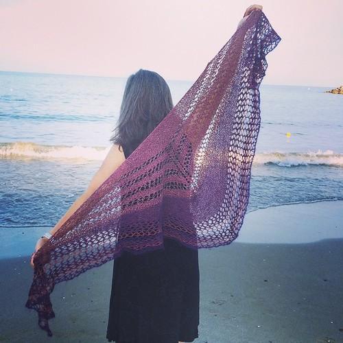 Conchiglie shawl WS @unfilodi Spotorno :)